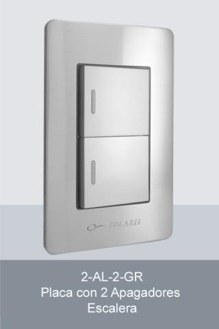 Electricos E Iluminacion Solaris L Nea A5 Gris